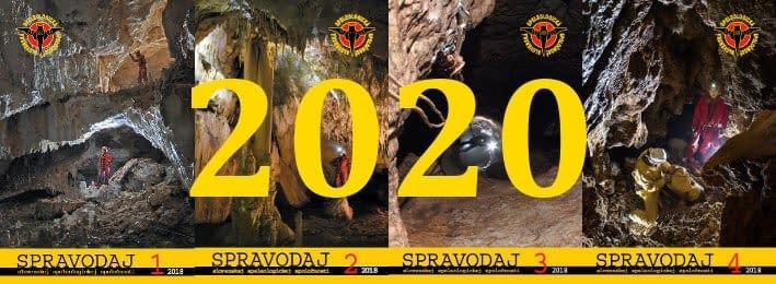 spravodaj, Do nového roka i ročníka, Slovenská speleologická spoločnosť