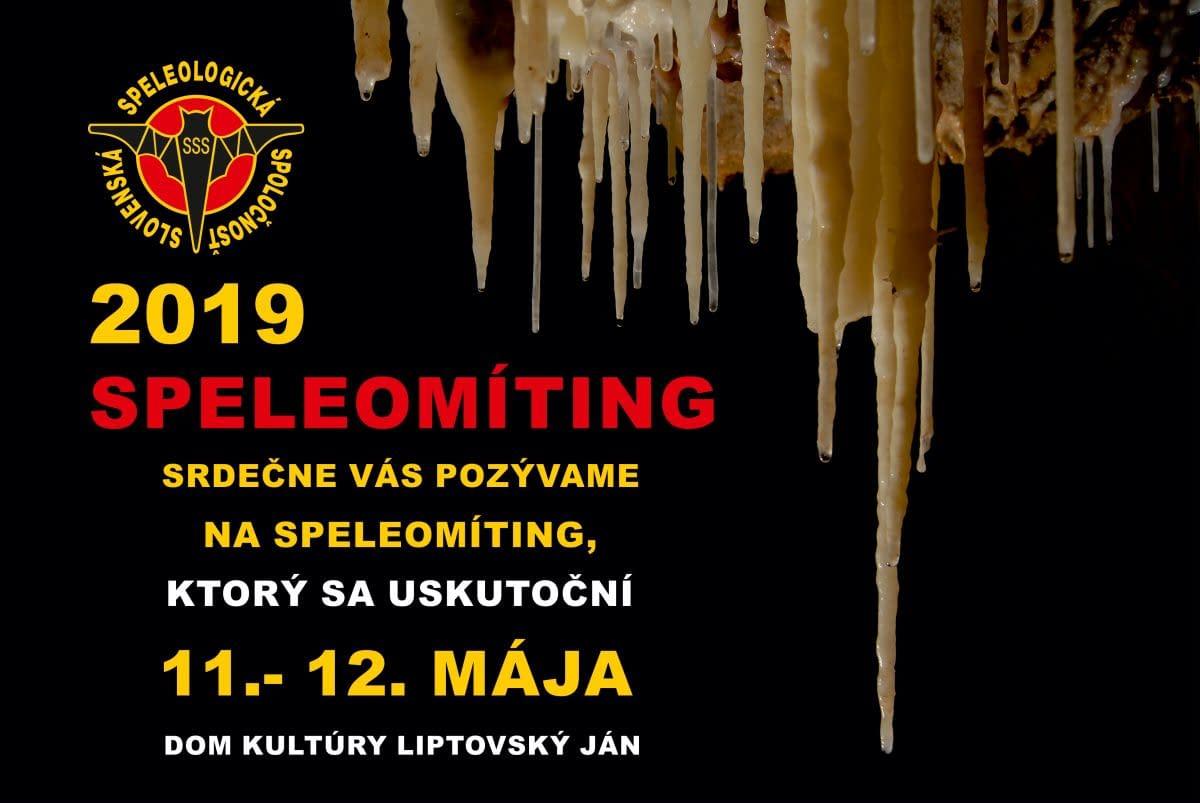 , Pozvánka – Speleomíting 2019, Slovenská speleologická spoločnosť