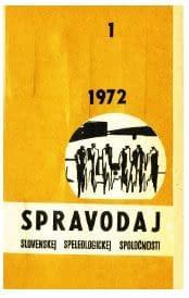 , Pribudli Spravodaje 1972/73 do speleoknižnice SSS, Slovenská speleologická spoločnosť