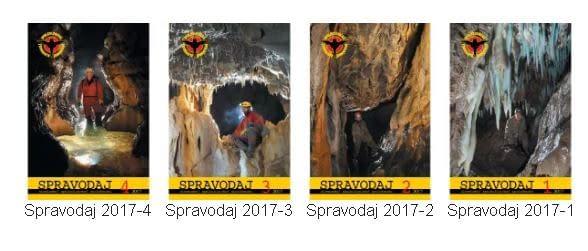 , Spravodaje SSS – 2017, Slovenská speleologická spoločnosť