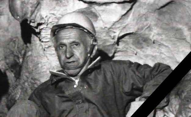 , † Emil Kavalír 1931 – 2017, Slovenská speleologická spoločnosť