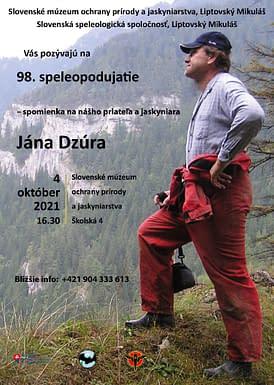 , 98. Speleopodujatie, Slovenská speleologická spoločnosť