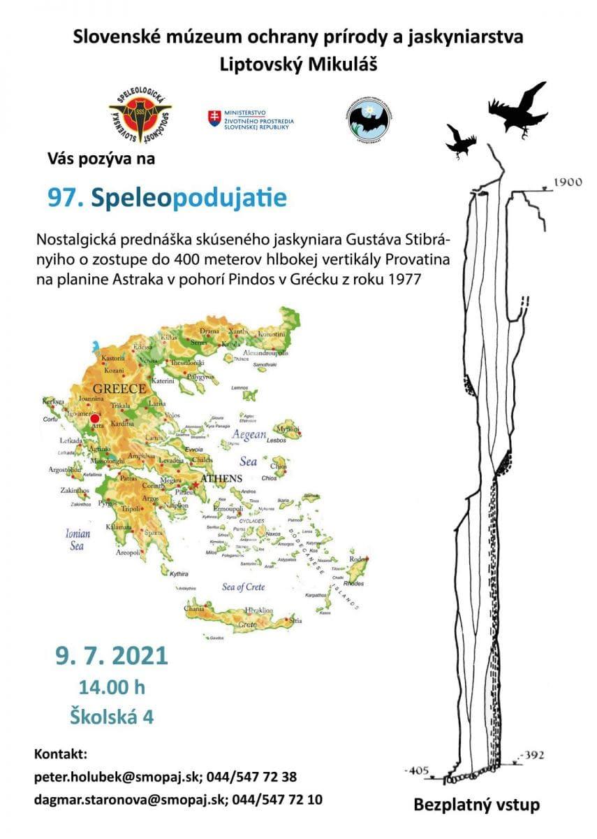 , 97. Speleopodujatie, Slovenská speleologická spoločnosť