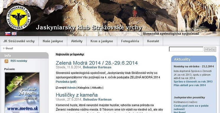 , Pozvánka na Jaskyniarsky Silvester 13. januára vStrážovských vrchoch, Slovenská speleologická spoločnosť