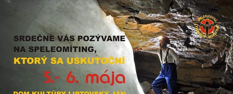 , Speleomíting 2018 – 1. Cirkulár, Slovenská speleologická spoločnosť