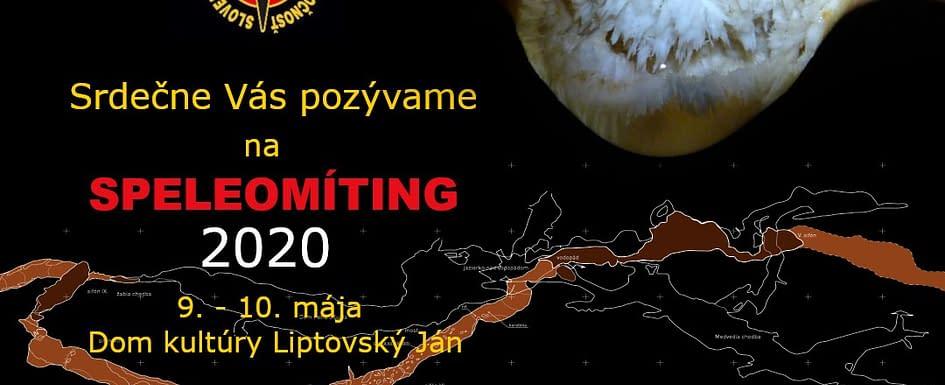 , Speleomíting 2020 pozvánka, Slovenská speleologická spoločnosť